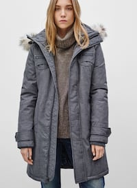TNA Mid-Length Parka (Medium) Toronto, M4E 1R7