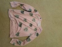 Forever 21 Cat sweatshirt size S Indianapolis