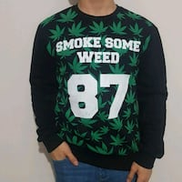 Smoke some weed sweatshirt Ankara, 06010
