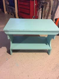 Robin egg blue distressed table Hagerstown, 21740