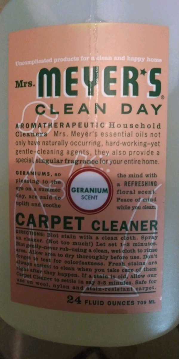Used Organic Cleaning Supplies For