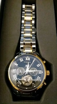 Gold and Silver Kinyued Wrist Watch Odessa, 79761