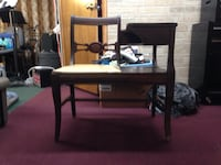 Antique Telephone Chair 1940's West Deer, 15084