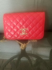 pink leather quilted crossbody bag Killeen, 76542