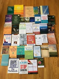 Self Help Books/Recovery Books/Work Booklets