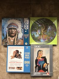 4 sealed  puzzles. New! Bremerton, 98312