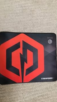 Black and red cyberpower Mousepad London, N6B 0M1