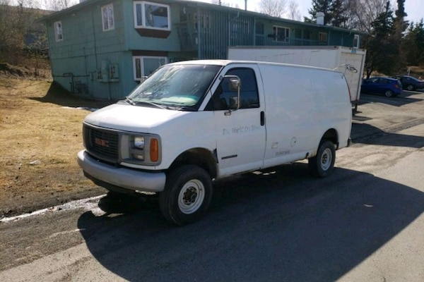 4x4 Van For Sale >> Used 4x4 Van Gmc 2001 For Sale In Anchorage Letgo