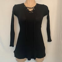 Lace-up top - Small Vancouver