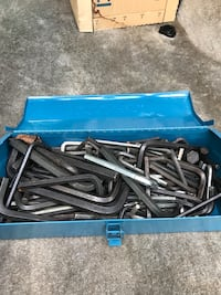 Box load of allen  wrenches 25 pr box and there is a lot  Johnston, 02919