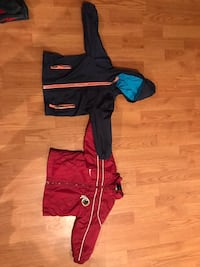 Two toddler boy rain coats- 18 monyhs Ashburn, 20147