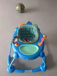 blue and yellow Fisher-Price walker Dumfries, 22025