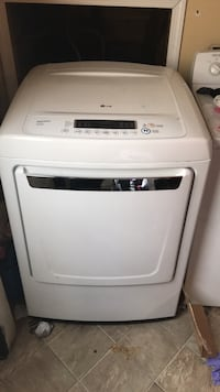 white LG front-load clothes dryer Winchester, 22602