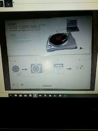 USB Turntable - New in box Alexandria