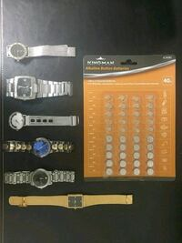 Watches and Batteries