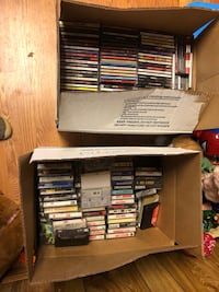 CD's Hundreds and some Cassettes