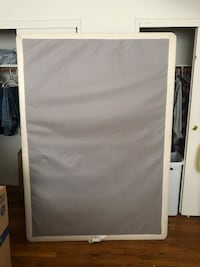 Full size box spring new Netcong