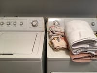 Washer and dryer, electric