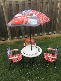 Lighting McQueen patio set for toddlers  Brampton, L7A 3H2