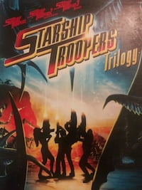 Starship Troopers trilogy dvd