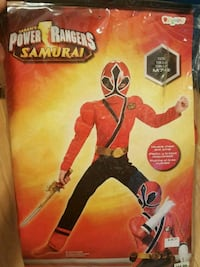 Halloween Power Rangers Samarai costume  Pickering, L1Z
