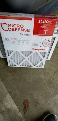 6 14x20x1 Honeywell Air Filters Vancouver, 98660