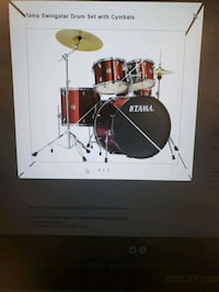 Tama swingstar (can come with cymbals, hardware, and double kick) Oviedo, 32765