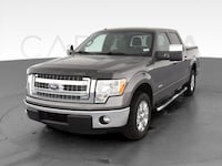 2013 Ford F150 SuperCrew Cab pickup XLT Pickup 4D 5 1/2 ft Gray Providence