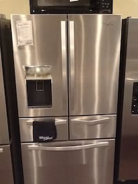 Whirlpool stainless steel french door refrigerator WRV986FDEM $1899.99