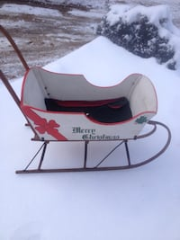 South Paris mfg push sled so. Paris Maine