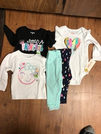 Brand new baby girl clothes - 12 months  Mesa, 85202