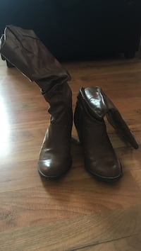 leather boots Red Deer, T4N