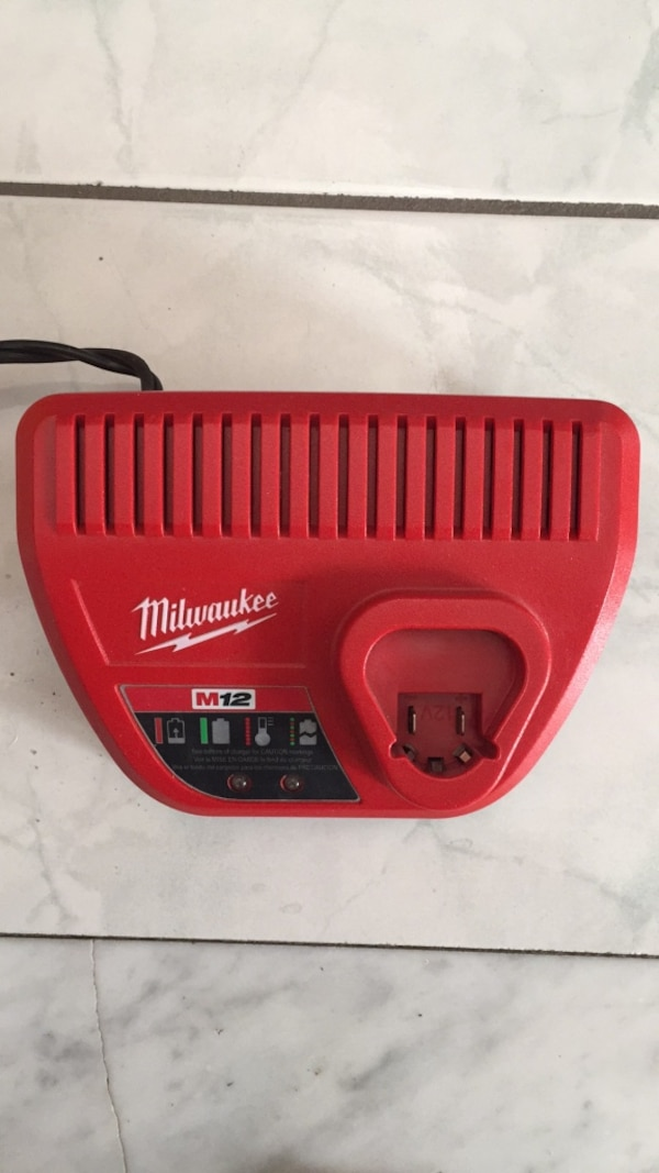 Milwaukee m12 charger brand new 25c43ce8-2093-464d-9918-f5eb38ccd03b