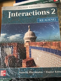 New English book Interactions 2 Reading  Herndon, 20171