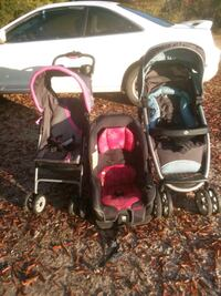 Two strollers and a  car seat Ellisville, 39437