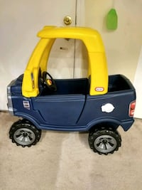 toddler's blue and yellow ride on toy Chicago, 60660
