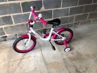 Toddler's pink and white bicycle Rockville, 20850