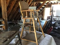 Antique high chair/child's table and chair Boxborough