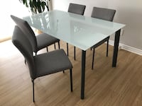 Kitchen table with 4 chairs- Maison Corbeil  Dorval, H9P