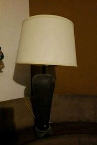 black and gray table lamp Martindale, 78655