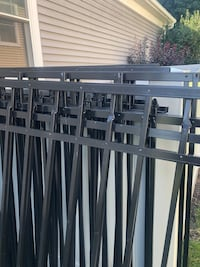 Aluminum fencing made in Philladelphia. $400 takes it all. 5-6 sections five feet high with post. Cornwall, 17042