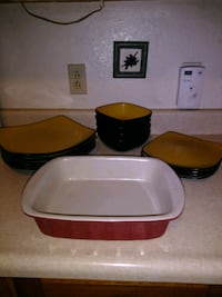 Dishes / casserole dish  2232 mi