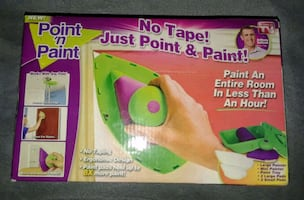 POINT AND PAINT (NO TAPE NEEDED)