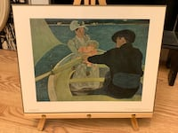 """The Boating Party"" by Mary Cassatt on 11 X 14 Plaque Baltimore, 21205"