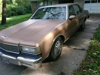 89 Chevy Caprice  original lots of new parts Independence, 64055