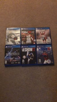 PS4 GAMES!!! $10-$30 Kitchener, N2R 1V3