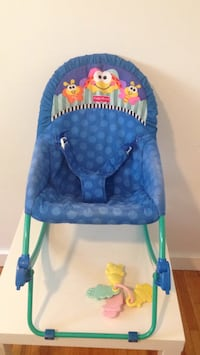 baby's blue and green bouncer Winnipeg, R2M