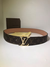 Classic LV Monogram Belt Nesconset, 11767