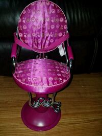 """chair for doll 18"""" Wheeling, 60090"""