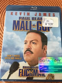 Mall Cop Blu-Ray Film (UNOPENED, Still Sealed!) 569 km